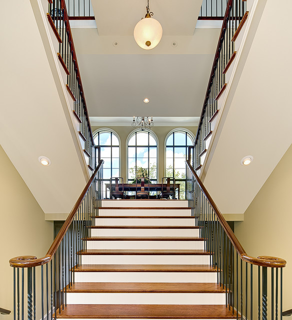 Dunes West Staircase contemporary-staircase