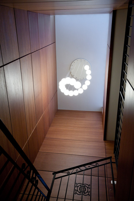 Duplex appartment contemporary-staircase