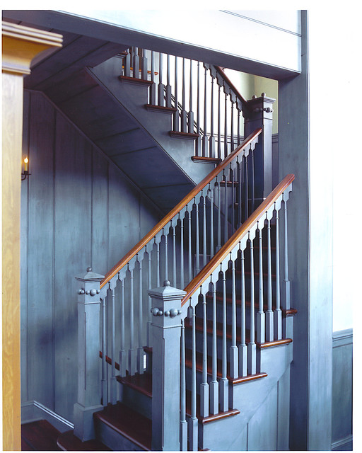 Dutch Colonial Renovation Traditional Staircase New