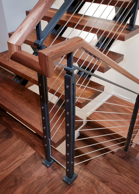 Dyna - Mercer Island III contemporary-staircase