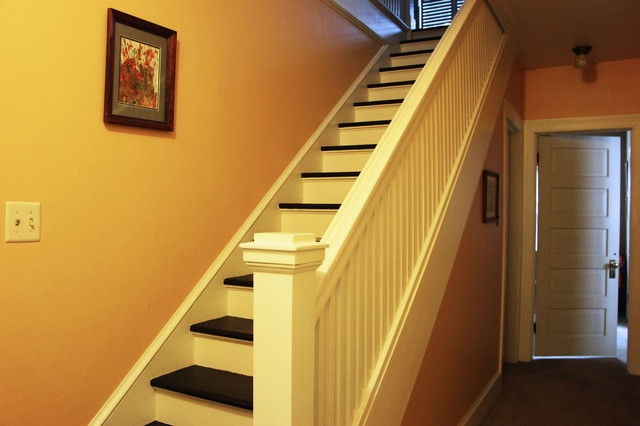 E.W. House traditional staircase