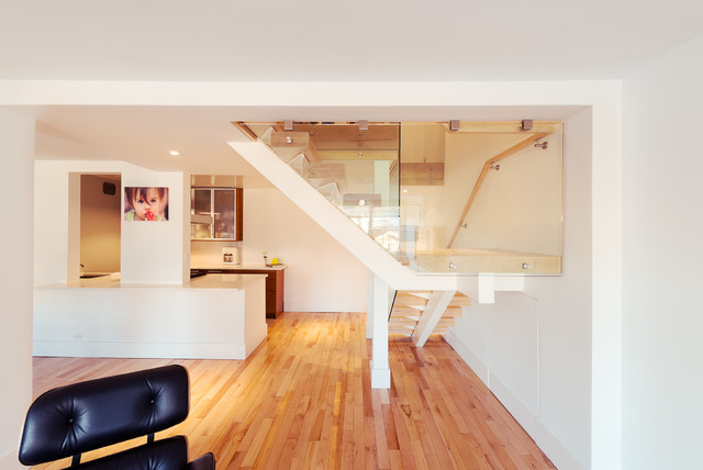 East 14th Street Coop Combo modern-staircase
