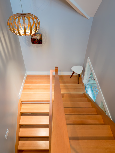 east 32nd ave contemporary-staircase