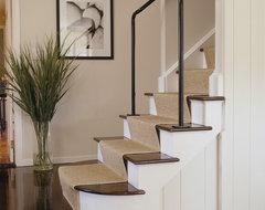 East Hampton contemporary-staircase