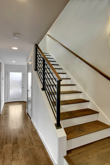 Eastlake 6 Townhomes - Transitional - Staircase - seattle ...
