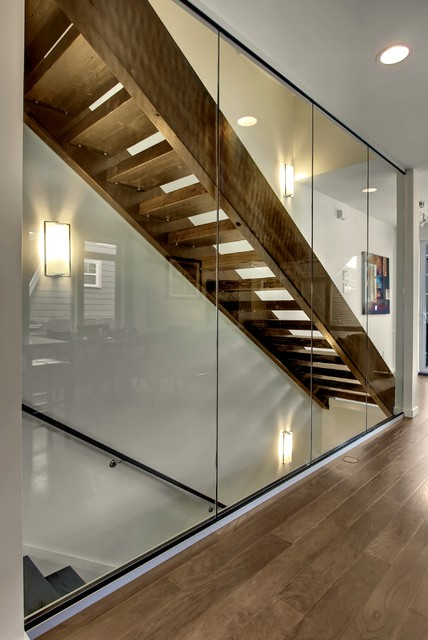 Eastlake 6 Townhomes - Contemporary - Staircase - seattle - by Caron ...