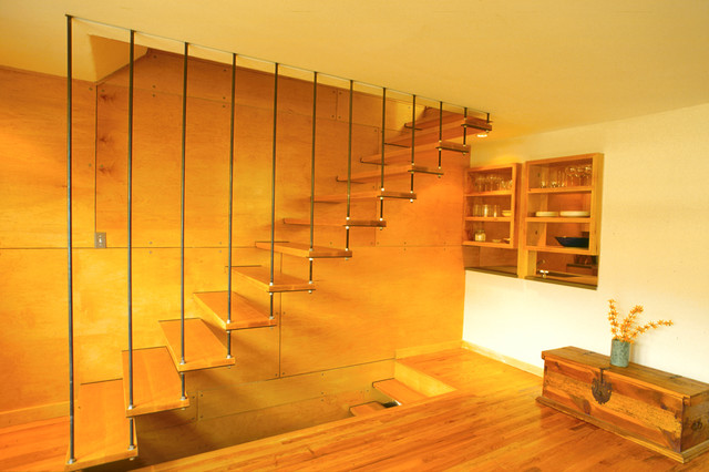 Eastlake - Modern - Staircase - seattle - by lewis + smith