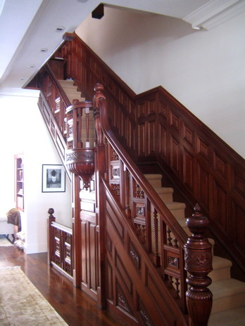Abelow Sherman Architects LLC eclectic staircase