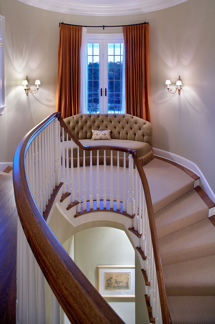 Edina, MN - Completed in 2006 mediterranean-staircase