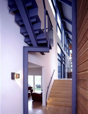 Edward I. Mills + Associates contemporary-staircase