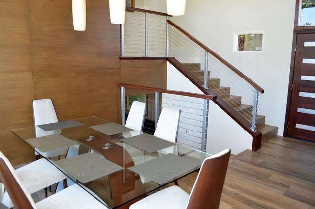 El Cajon - Midcentury Modern Kitchen & Stair Remodel ...