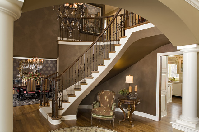 Elegant Entries contemporary staircase
