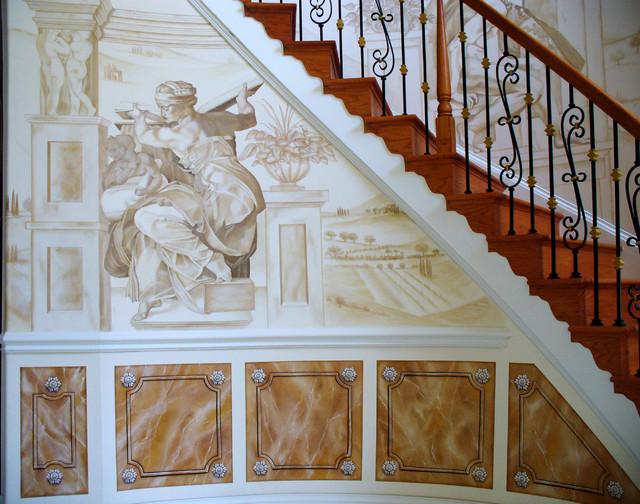 Houzz Elegant Foyers : Elegant foyer staircase traditional dc