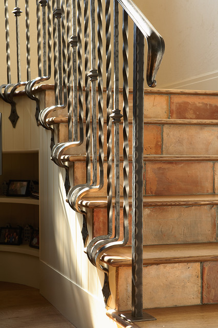 elegant stairs - traditional - staircase