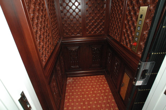 Elevators traditional-staircase