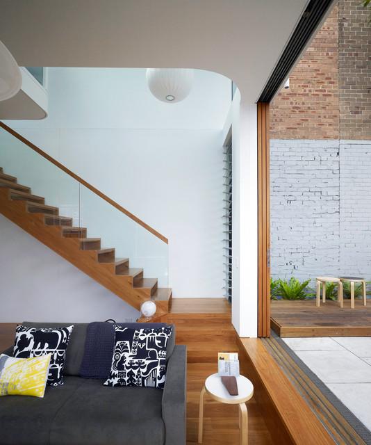 Elliott Ripper House contemporary-staircase