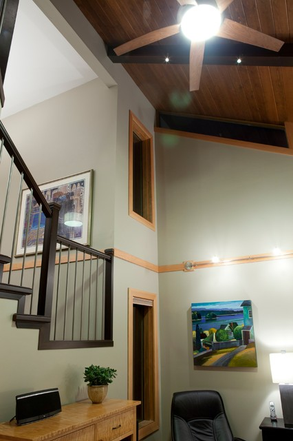 Emerald Drive Project modern-staircase