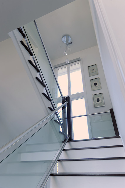 Emerald Isle Vacation Home Contemporary Staircase DC