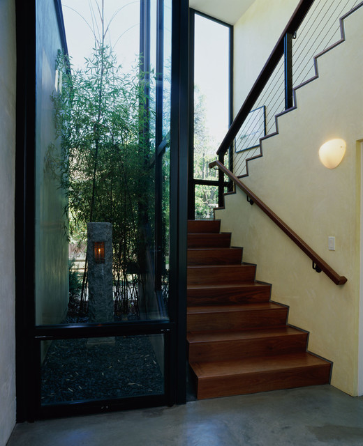 Emerson Street - Palo Alto contemporary-staircase