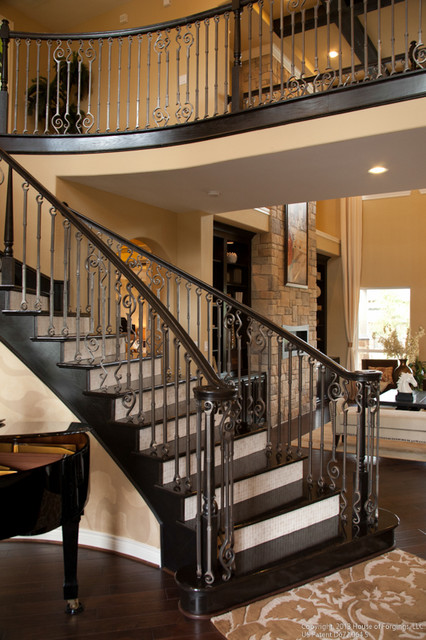 endecor iron stair balusters