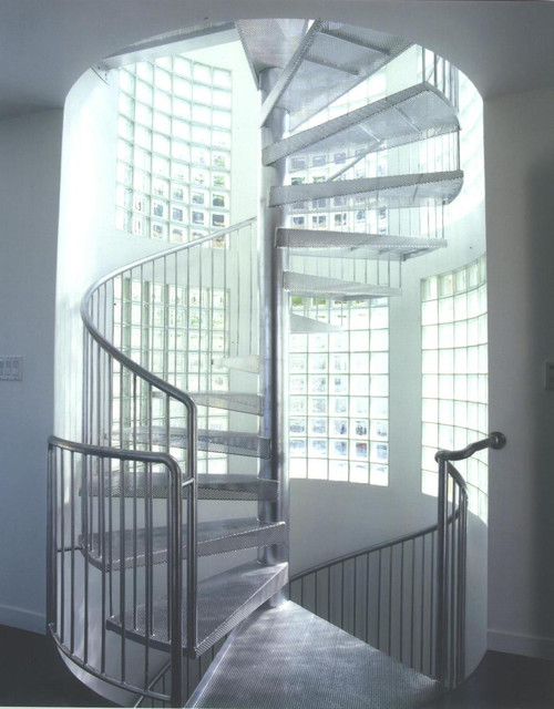 Energy Efficient Home contemporary staircase