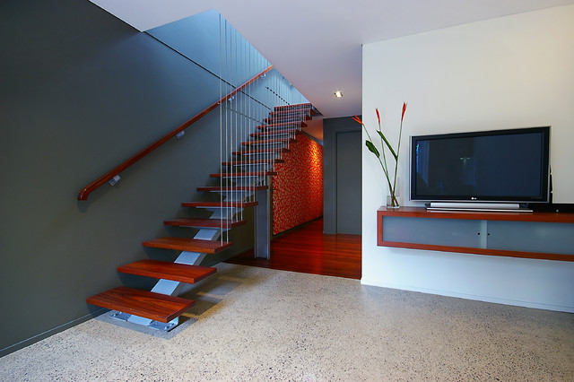 Enmore House contemporary-staircase
