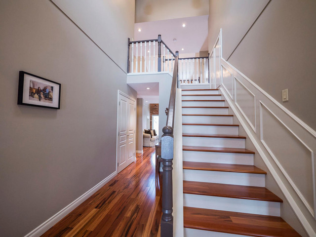 Foyer Staircase Questions : Entrances foyers staircase edmonton by digital