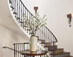 Entry mediterranean-staircase