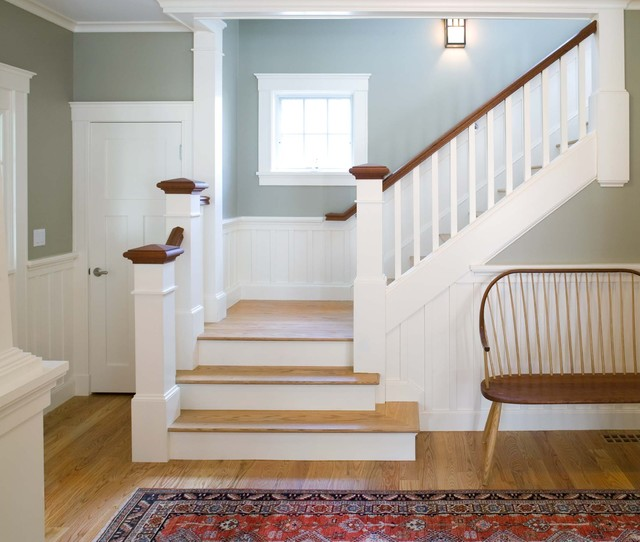 Entry Halls Amp Main Stairs Traditional Staircase