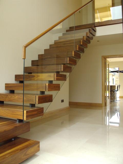 Equilibrium Open Staircase - Contemporary