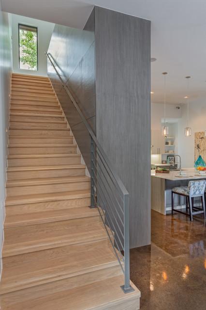 Ethridge Residence contemporary-staircase