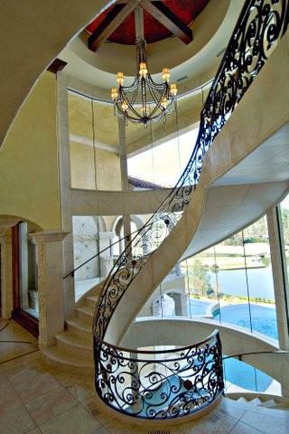 European Design Mediterranean Staircase Charlotte