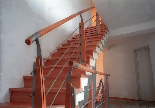 European Modern Modern Staircase Other Metro By