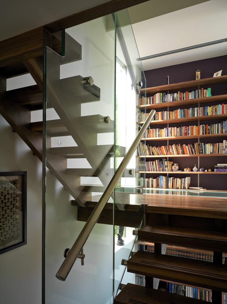 Staircase - contemporary open staircase idea in London