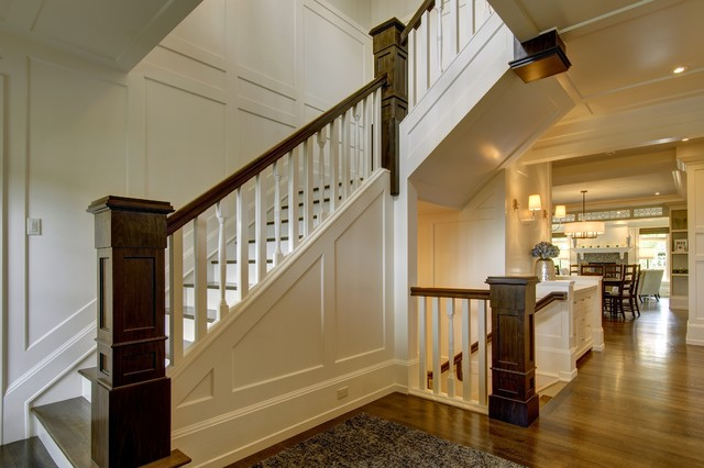 Fabulous City Living Craftsman Staircase