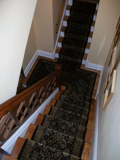 Fabulous Stair Runner Traditional Staircase