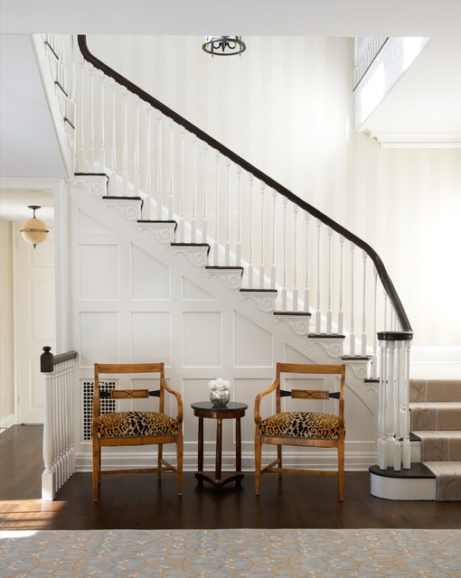 Fairfield County Traditional Staircase New York By Elena Phillips Interiors