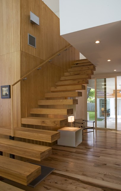 Fairfield House modern-staircase