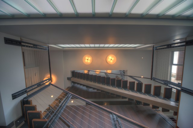 Fairview Residence modern-staircase