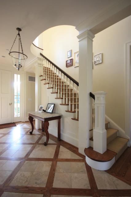 Farmhouse traditional-staircase