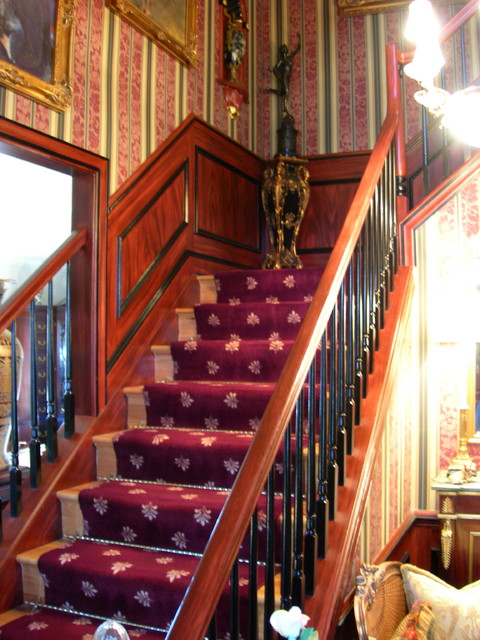 Faux Finishes traditional-staircase