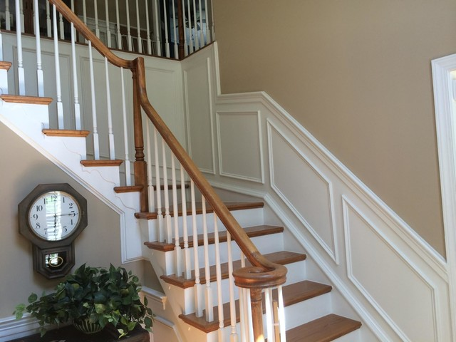 Faux Wainscoting And Shadow Boxes Traditional
