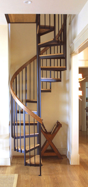 spiral stair to loft