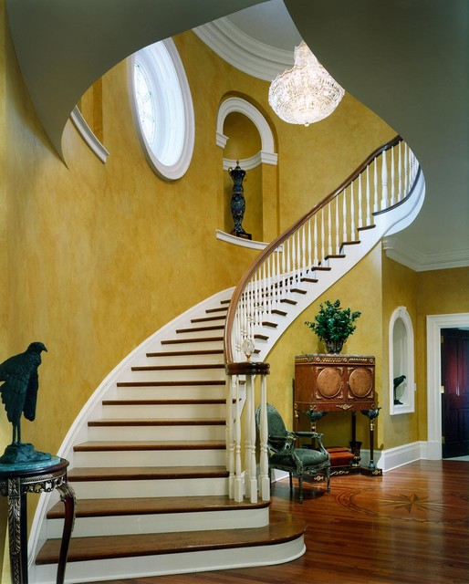 Styling A Staircase: Federal Style Derita Residence