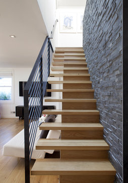 Feldman Architecture eclectic staircase