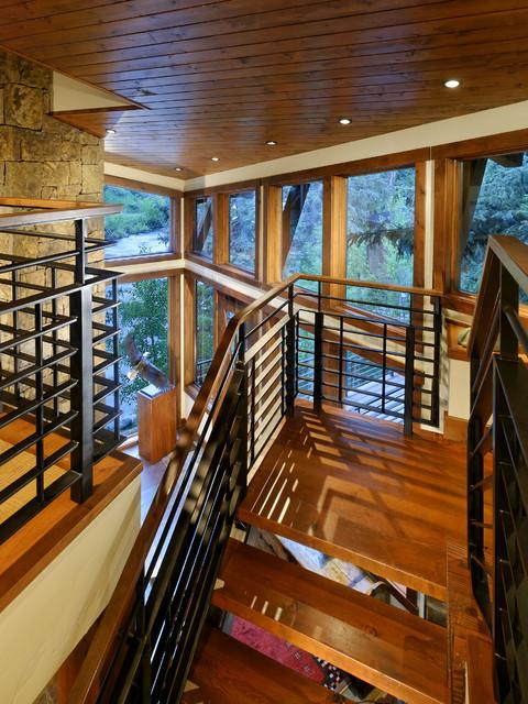 Feldman Stairs rustic-staircase