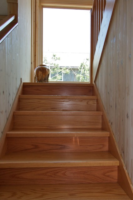Fire Island House contemporary-staircase
