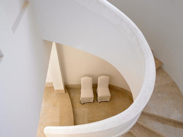 Flamingo Drive Residence mediterranean-staircase