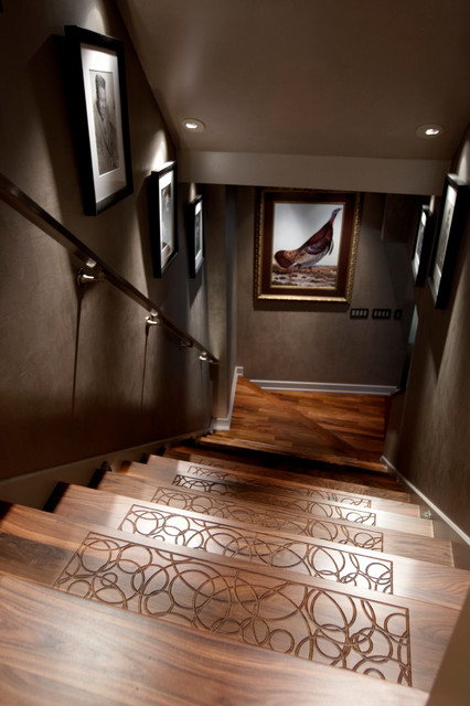 Flawless Composure contemporary staircase