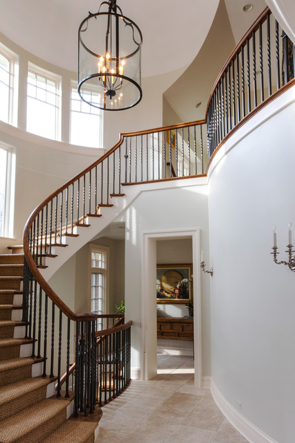 Winnetka Residence #2 traditional-staircase